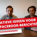 [VIDEO] 10 creatieve Facebook-berichten voor horecaondernemers