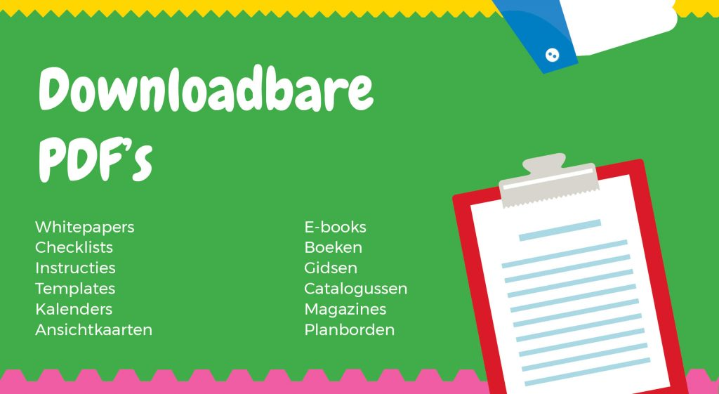 Social media content ideeen - Downloadbare PDF's